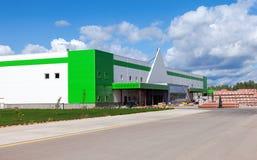 Onstruction de ¡ de Ð de nouveau Leroy Merlin Samara Store Image libre de droits