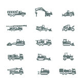Сonstruction machinery Royalty Free Stock Images