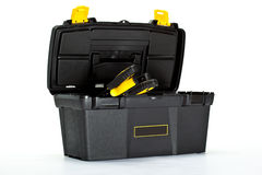 Сonstruction toolbox with special tools inside Stock Image