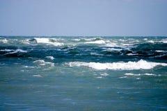 Onstuimige zeeën Stock Foto