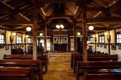 Onsuri Anglican church in Ganghwa-gun, Incheon, Korea