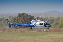 Ontà ¡里约警察-作为350个B2的Eurocopter 库存图片