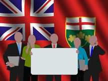 Ontario business team stock illustration