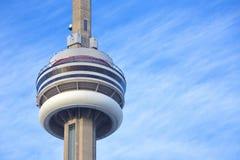 Ontario cn skyline Toronto jezioro wieży obraz stock