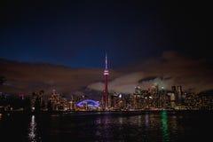Ontario cn skyline Toronto jezioro wieży zdjęcia royalty free