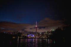 Ontario cn skyline Toronto jezioro wieży Obrazy Stock