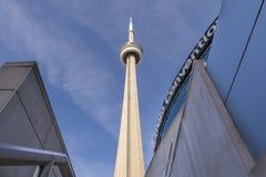 Ontario cn skyline Toronto jezioro wieży Fotografia Stock