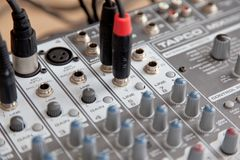 Ontario, Kanada - 21. Mai 2018: Audiostudio solides mischendes equaliz Stockfoto