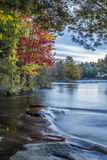 Ontario Landscape. An autumn day along the shoreline of Mary Lake Stock Images