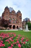 Ontario legislature. Building in spring Royalty Free Stock Images