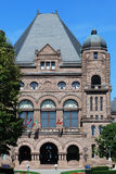 Ontario Parliament Building, central block Royalty Free Stock Photo