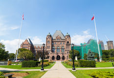 Ontario Parliament Building Royalty Free Stock Photos