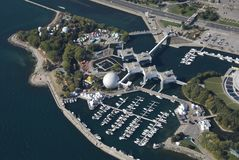 Ontario Place stock photo