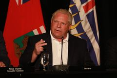 Ontario premiärminister Doug Ford arkivfoto