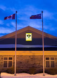 Ontario Provincial Police Building Stock Images