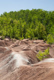 Ontario& x27;s Cheltenham Badlands of Caledon. Stock Photography
