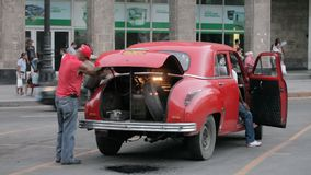Ontbering Havana stock footage