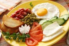 Ontbijt. Stock Afbeeldingen