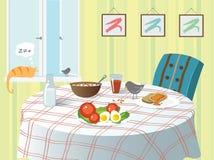 Ontbijt Vector Illustratie