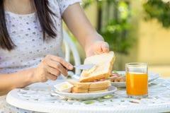 Ontbijt Stock Afbeelding