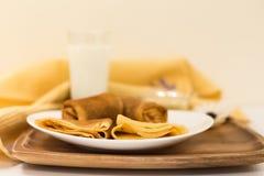 Ontbijt de Vastenavond Stock Afbeeldingen