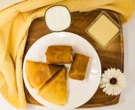 Ontbijt de Vastenavond Royalty-vrije Stock Fotografie
