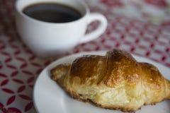Ontbijt in Frankrijk Stock Afbeelding