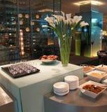 Ontbijt in hotel Royalty-vrije Stock Foto