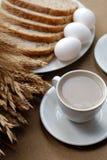 Ontbijt met cirn Royalty-vrije Stock Afbeelding