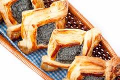 Ontbijt met croissant Royalty-vrije Stock Foto