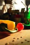 Ontbijt met groenten Stock Afbeelding