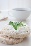 Ontbijt met kwark Royalty-vrije Stock Afbeelding
