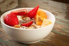 Ontbijt Muesli Stock Fotografie