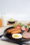 Ontbijt op de lijst Stock Afbeeldingen
