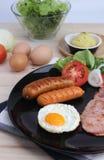 Ontbijt op de lijst Royalty-vrije Stock Afbeeldingen