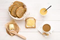 Ontbijt op de lijst Royalty-vrije Stock Foto