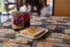 Ontbijt in vakantie Royalty-vrije Stock Afbeeldingen