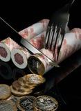 Ontbijt van de ambtenaar. Stock Afbeeldingen