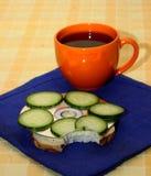 Ontbijt van de programmeur Stock Fotografie