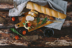 Ontbijt van verse groenten Royalty-vrije Stock Afbeeldingen