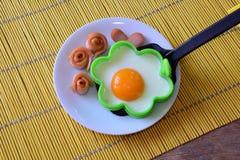 Ontbijt voor jonge geitjes Stock Afbeeldingen