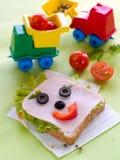 Ontbijt voor kind stock afbeeldingen