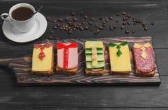 Ontbijt voor mensen Royalty-vrije Stock Foto