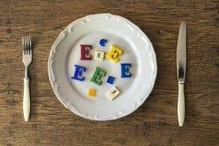 Ontbijt voor overleving Stock Foto