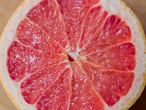 Ontbijtgrapefruit het Dienen stock afbeelding