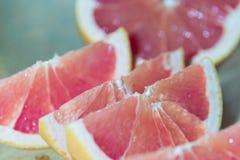 Ontbijtgrapefruit het Dienen stock foto's