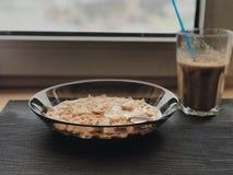 Ontbijtkoffie royalty-vrije stock foto's