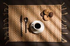 Ontbijtkoffie Stock Afbeelding