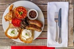 Ontbijtplaat Royalty-vrije Stock Afbeelding