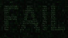 ONTBREEK bericht op het computerscherm van tekst en numerieke symbolen wordt gemaakt dat stock illustratie